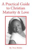 A Practical Guide to Christian Maturity   Love PDF