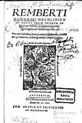 Trium priorum de Stirpium historia commentariorum imagines