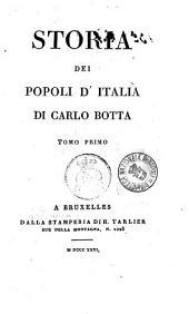 Storia dei Popoli d Italia