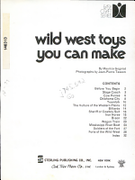 Wild West Toys You Can Make
