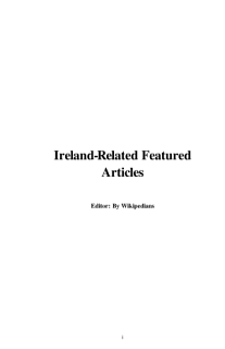 Ireland Related Featured Articles Book