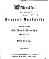 Missionsblatt: 1854