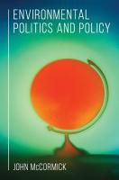Environmental Politics and Policy PDF