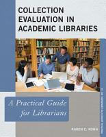Collection Evaluation in Academic Libraries PDF