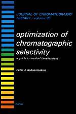 Optimization of Chromatographic Selectivity