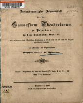 Disputatio de loco Q. Horatii Fl. satir. I. 6, 42-44