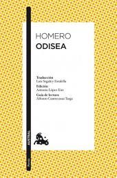 Odisea: Traducción de Luis Segalà y Estalella. Edición de Antonio López Eire. Guía de lectura de Alfonso Cuatrecasas Targa
