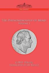 The Phenomenology of Mind: Volume 1