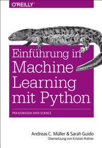 Einf  hrung in Machine Learning mit Python PDF