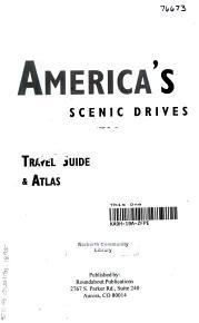 America s Scenic Drives PDF