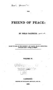 The friend of peace: Volume 4