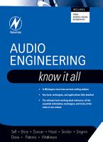 Audio Engineering  Know It All PDF