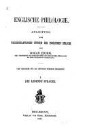 Englische philologie PDF