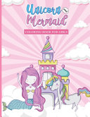Unicorns and Mermaids Coloring Book for Girls PDF