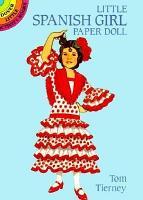 Little Spanish Girl Paper Doll PDF