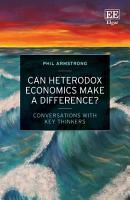 Can Heterodox Economics Make a Difference  PDF