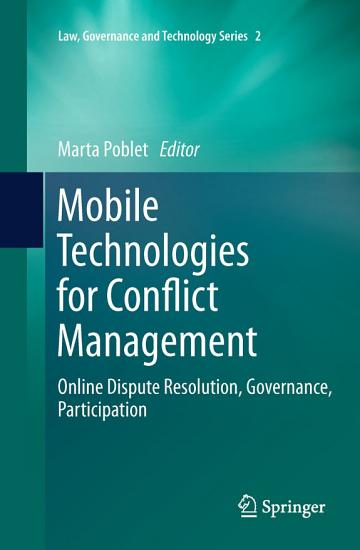 Mobile Technologies for Conflict Management PDF