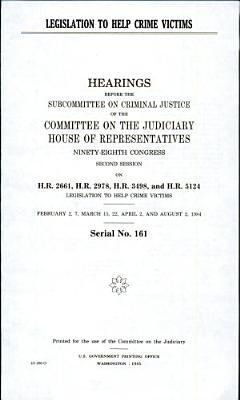 Legislation to Help Crime Victims PDF