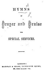 Hymns of Prayer and Praise for special services