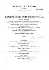 Progetto di codice penale Relazione della commissione speciale del senato ...