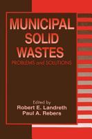 Municipal Solid Wastes PDF