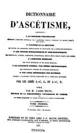 Nouvelle encyclopédie théologique: ou Nouvelle série de dictionnaires sur toutes les parties de la science religieuse, Volume45