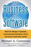 The Business of Software PDF
