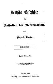 Deutsche Geschichte im Zeitalter der Reformation: Volumes3à4