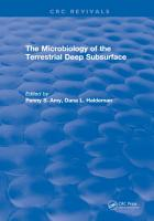 Microbiology of the Terrestrial Deep Subsurface PDF
