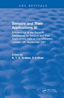 Sensors and Their Applications XI PDF