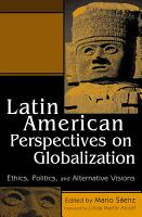 Latin American Perspectives on Globalization PDF