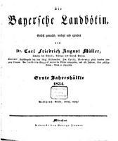 Bayerische Landb  tin PDF