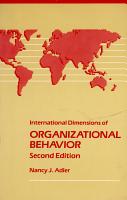 International Dimensions of Organizational Behavior PDF