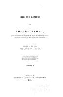 Life and Letters of Joseph Story PDF
