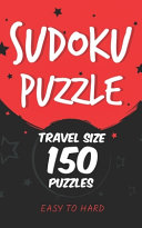 Sudoku Puzzle Travel Size 150 Puzzles EASY TO HARD