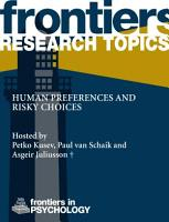 Human preferences and risky choices PDF