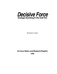 Decisive Force Book