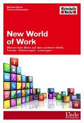 New World of Work: Warum kein Stein auf dem anderen bleibt. Trends - Erfahrungen - Lösungen