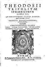 Sphaericorum Elementorum libri III