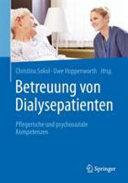 Betreuung von Dialysepatienten PDF