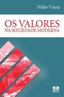 Os valores na sociedade moderna PDF