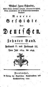 Geschichte der Deutschen: Band 10