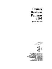 County business patterns, Puerto Rico
