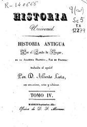 Historia antigua: Volumen 4