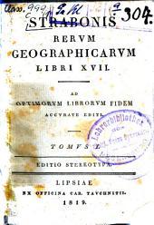 Res geographicae: ad optimorum librorum fidem accurate editi, Τόμος 1