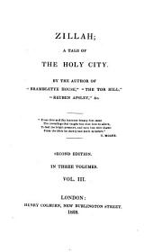 Zillah: A Tale of the Holy City, Volume 3