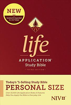 NIV Life Application Study Bible  Third Edition  Personal Size  Hardcover