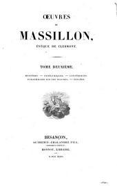 Oeuvres de Massillon, évêque de Clermont: Volume2