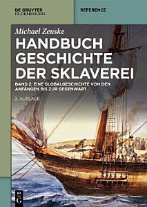 Handbuch Geschichte der Sklaverei PDF