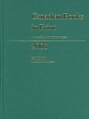 Canadian Books in Print 2005 PDF